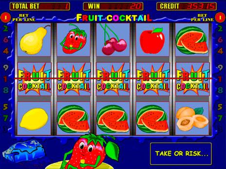 Игровые автоматы Fruit Coctail максималь